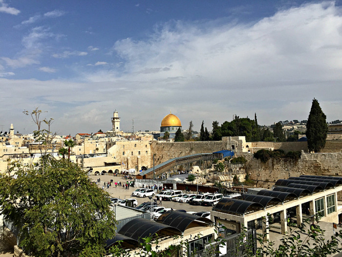 Dome of the Rock at Temple Mount in Jerusalem ~ 5 Things You Probably Don't Know About Israel, TravelMamas.com