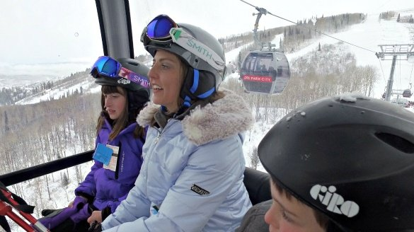 The new Quicksilver Gondola in Park City