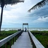 Hitting the beach at Sundial Resort during a break from the rain ~ Fun Things to Do on Captiva Island and Sanibel Island When it Rains