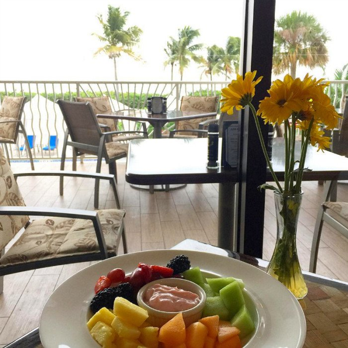 Breakfast at Seabreeze Cafe at Sundial Resort ~ Fun Things to Do on Captiva Island and Sanibel Island When it Rains
