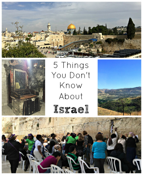 5 Things You PROBABLY Don't Know About Israel, TravelMamas.com