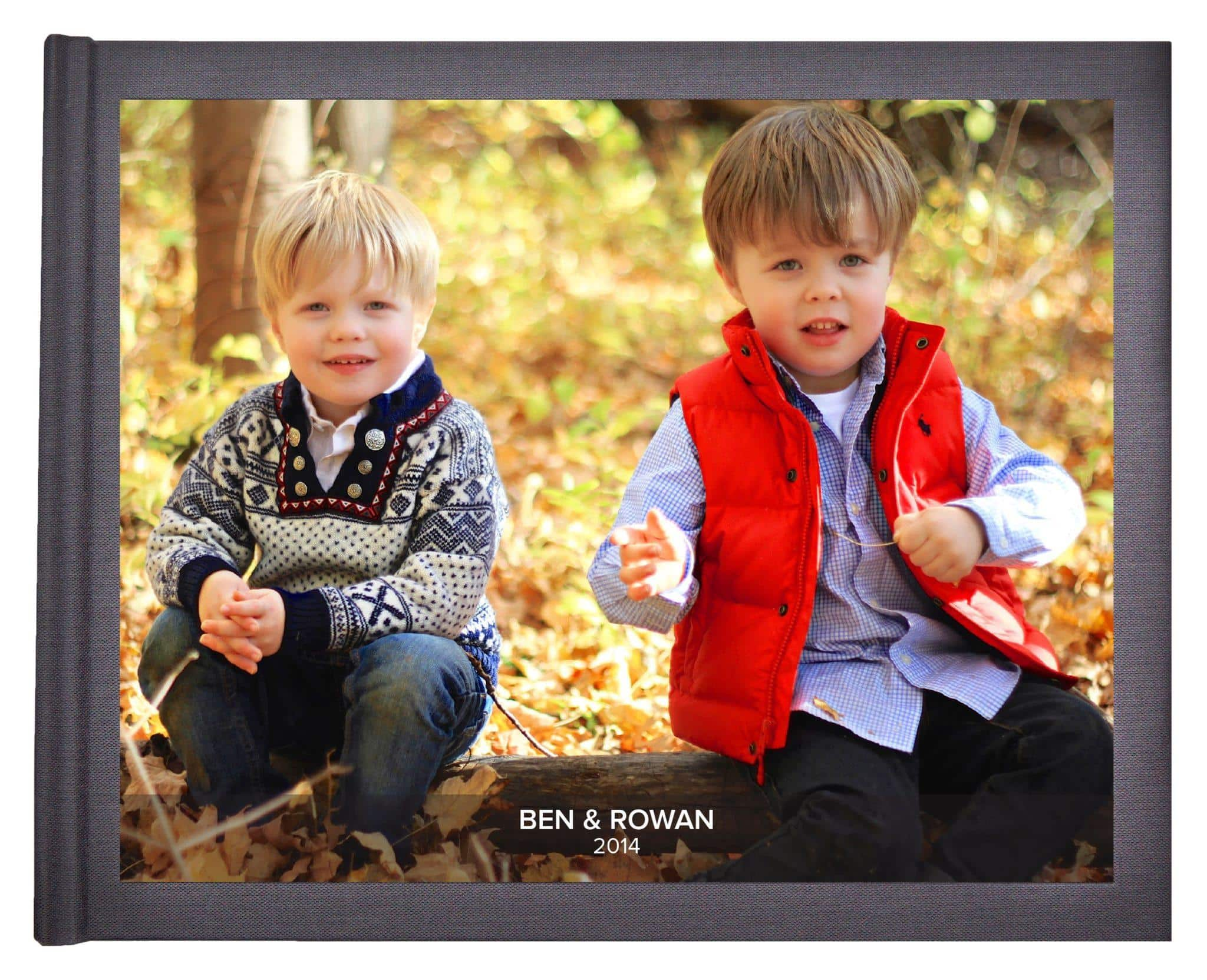 Save family memories with a Tweed Wolf built-for-you photo book ~ Gift Guide for Travel Families