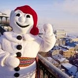 Say Bonjour to Bonhomme, the Quebec Winter Carnival mascot