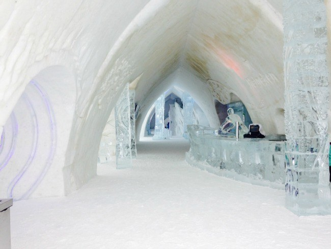 Hotel de Glace ~ Quebec City Winter Fun for Families