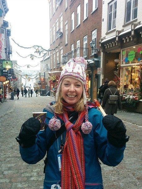 Quebec Winter Carnival mulled wine and maple taffy ~ Quebec City Winter Fun for Families