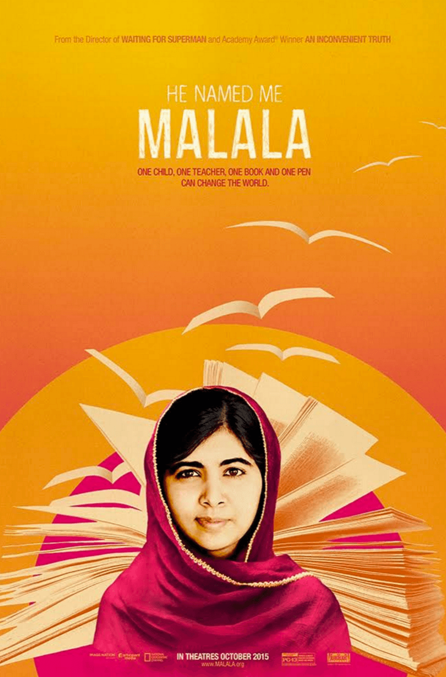 "Watch ""He Named Me Malala"" with Your Kids"