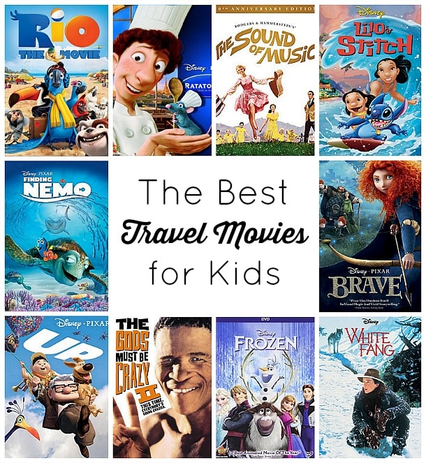 The Best Travel Movies for Kids