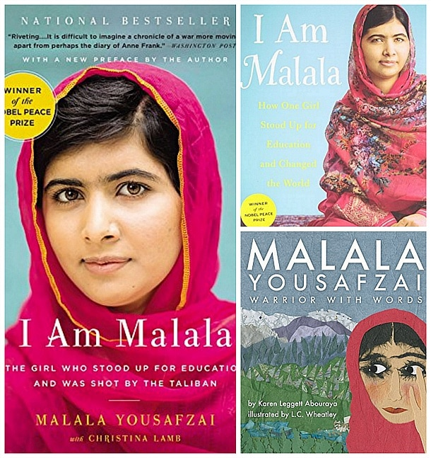 Malala books for kids and adults