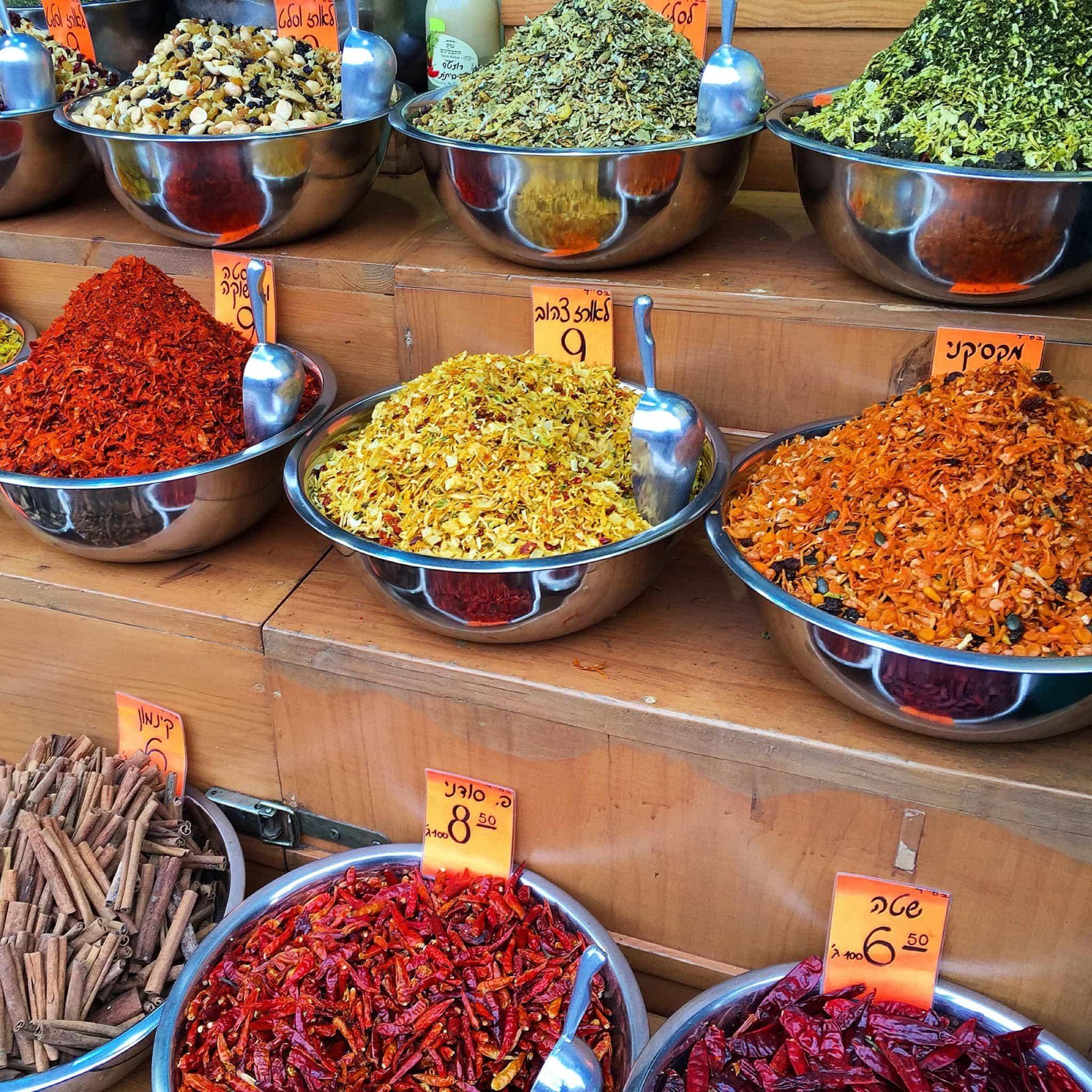 Shopping the shuks, or souks, in Israel
