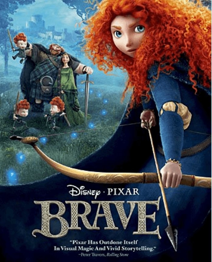 Best Travel Movies for Kids - Brave