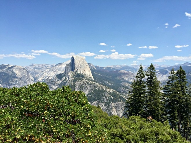 Half-Dome-view at Yosemite National Park