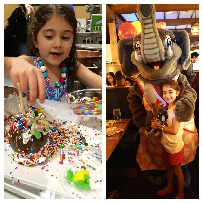 Family Fun at Kalahari Resorts & Conventions, Pocono Mountains, PA. Junior foodies can make their own caramel apples and attend character breakfasts at Kalahari Resorts Poconos (Photo credit: Lyla Gleason)