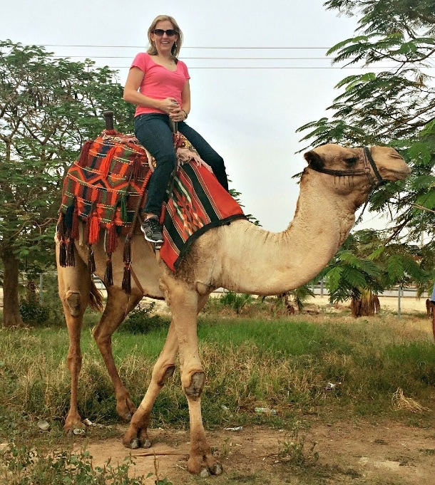 Riding a camel in Israel is something I won't soon forget ~ 15 Things to Do in Israel