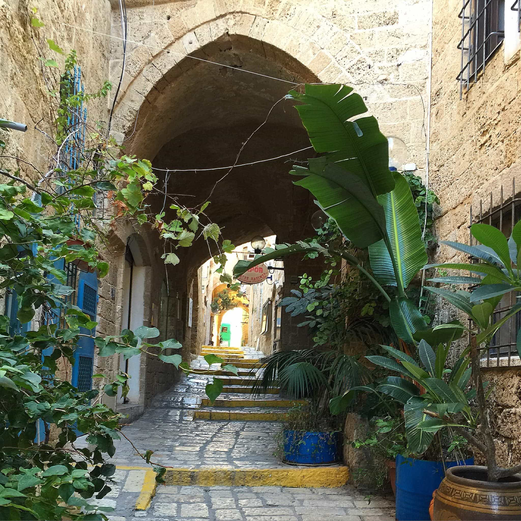 A scene from Jaffa - the ancient portion of Tel Aviv