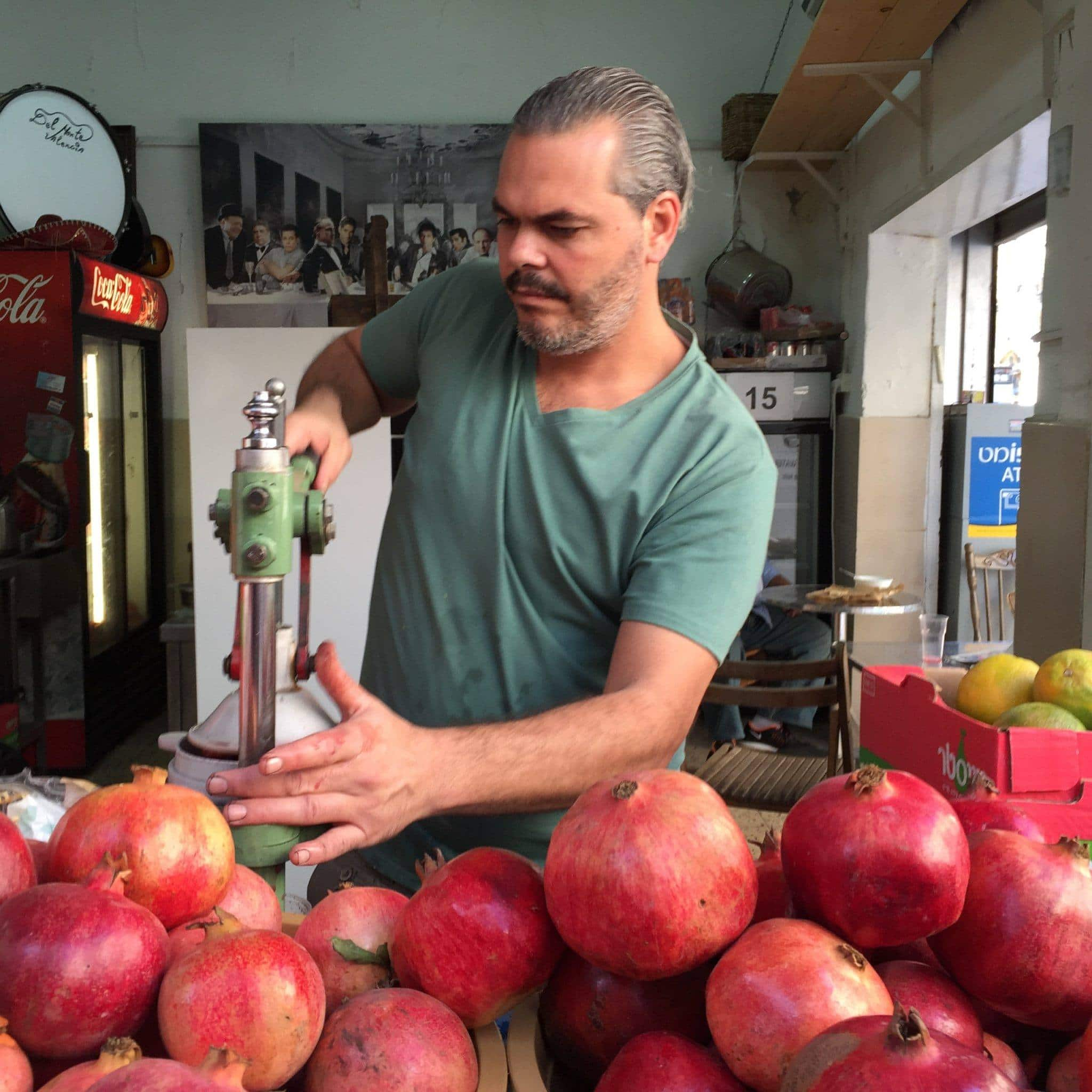 Drink fresh-squeezed pomegranate juice ~ 15 Things to Do in Israel, No Matter Your Religion
