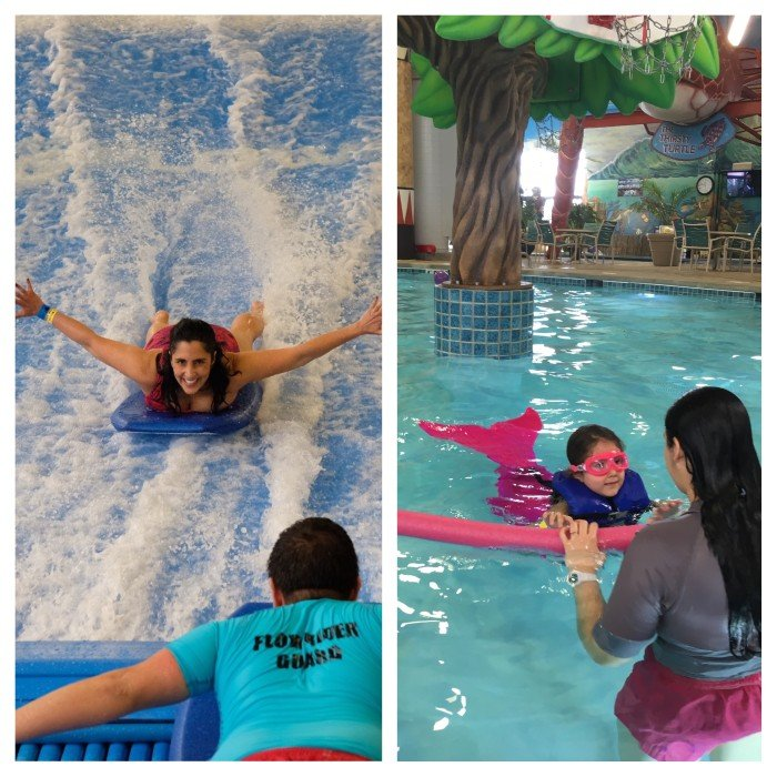 Kalahari Resort Poconos - A Splashy Escape from the Ordinary (Photo caption: Lyla Gleason)