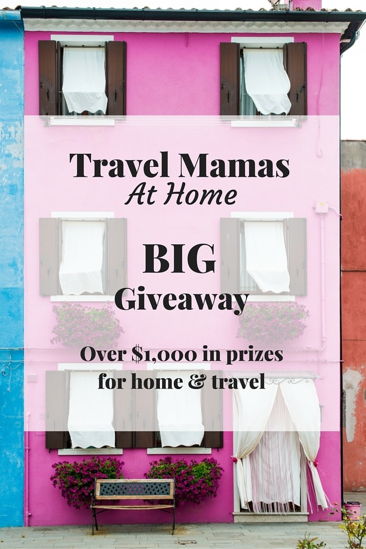Travel Mamas At Home Launch Big Giveaway with $1,000+ in Prizes for Home & Travel Including a 2-Night Stay at Any Embassy Suites by Hilton