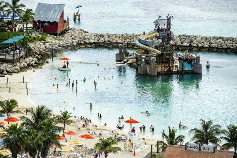 Pelican Plunge on Castaway Cay