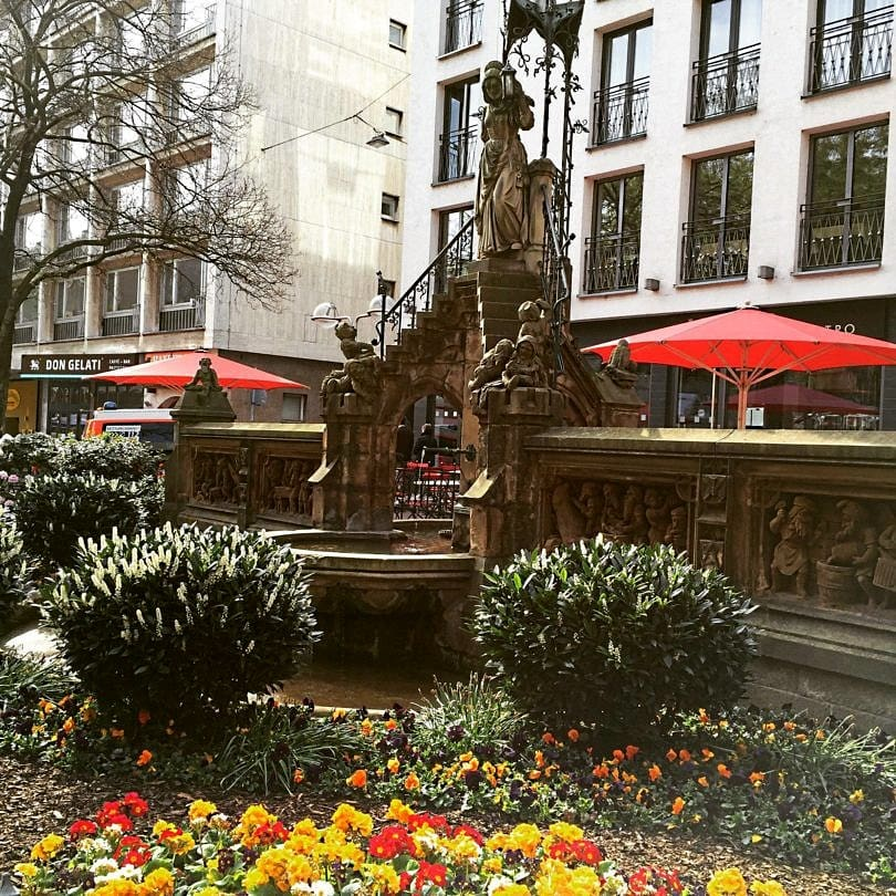 Fountain of the Elves in Cologne, Germany