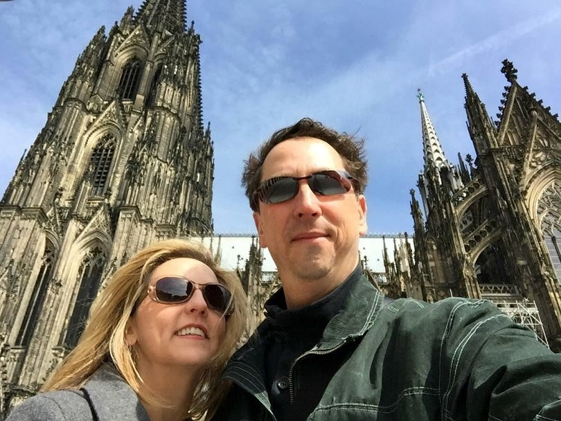 A Cologne Cathedral selfie