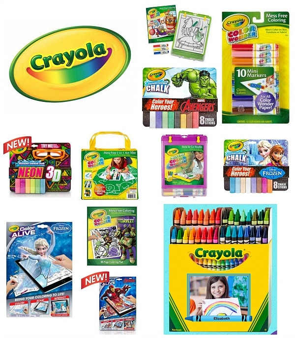 $100 Crayola Prize Pack ~ Travel Mamas At Home Launch BIG Giveaway