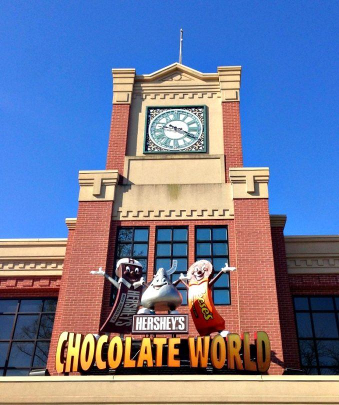 Chocolate World wows visitors of all ages ~ 15 Sweet Things to Do in Hershey, Pennsylvania with Kids