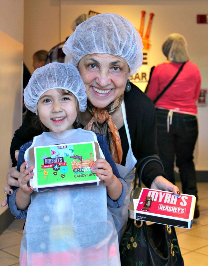 Customize your own chocolate bar at Hershey World ~ 15 Sweet Things to Do in Hershey, Pennsylvania with Kids