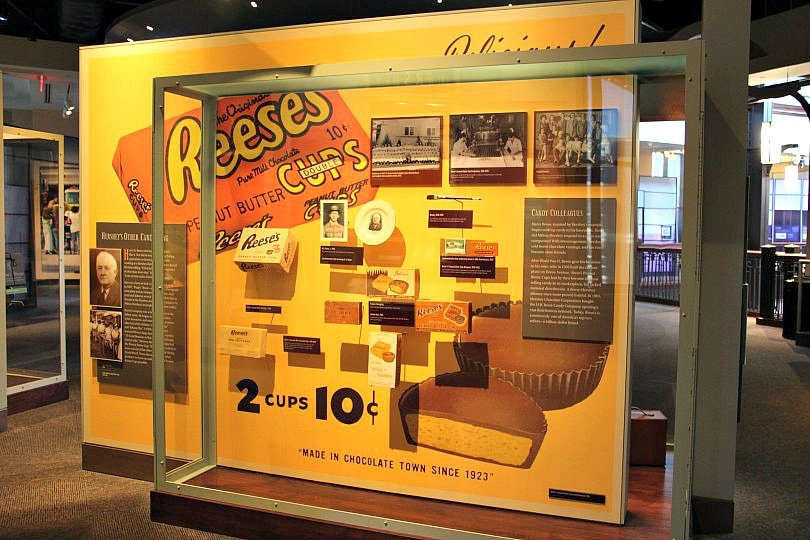 The Hershey Story's Museum Experience features loads of chocolate memorabilia and a chocolate lab ~ 15 Sweet Things to Do in Hershey, Pennsylvania with Kids