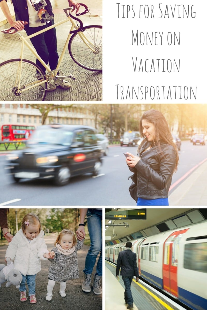 Tips for Saving Money on Vacation Transportation