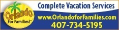 Orlando for Families - Rent Family Travel Gear