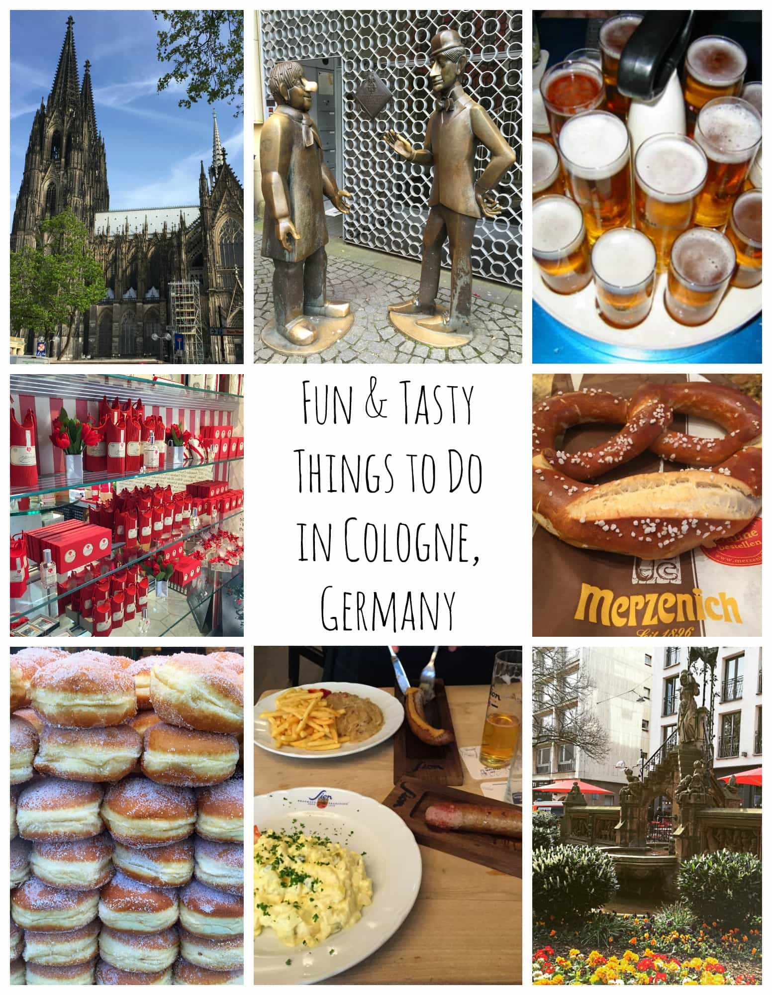 Fun & Tasty Things To Do in Cologne, Germany from TravelMamas.com ~ Best Blog Posts