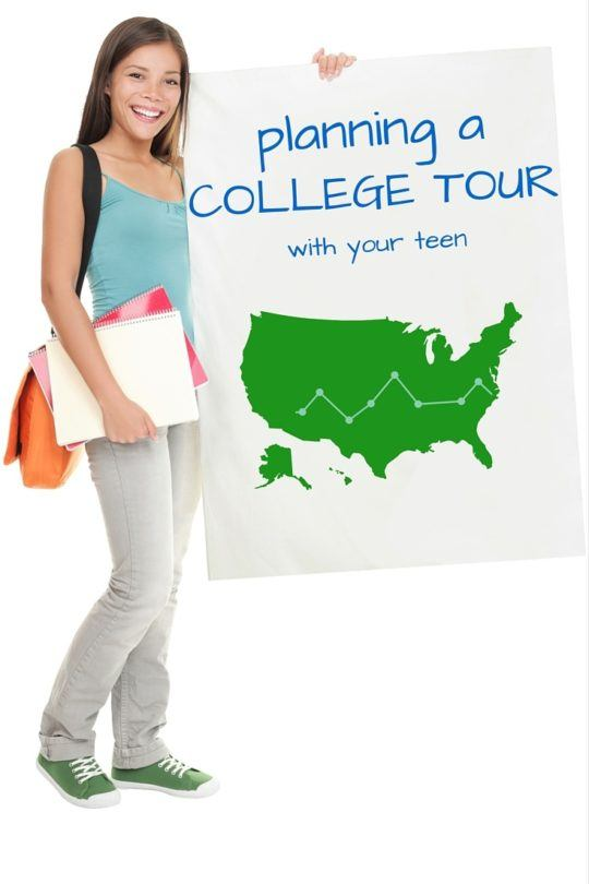 How to plan a college tour with your kid