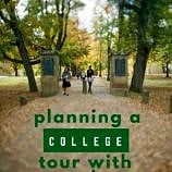planning a college tour with your teen