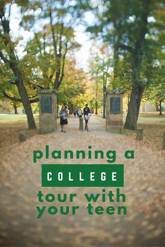 Tips for Planning a College Tour with Your Teen