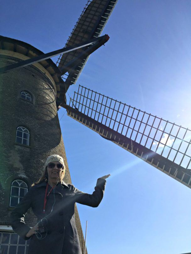 Windmills in Holland are lovely to look at, but they can be dangerous too!