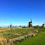 Kinderdijk UNESCO World Heritage Site in Holland, the Netherlands
