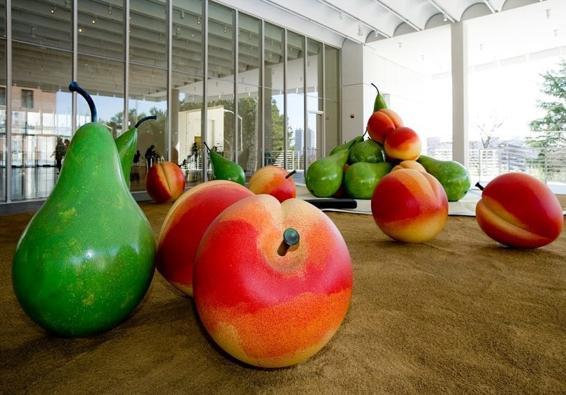 A sweet modern art display at High Museum ~ 10 Best Free Things to Do in Atlanta with Kids