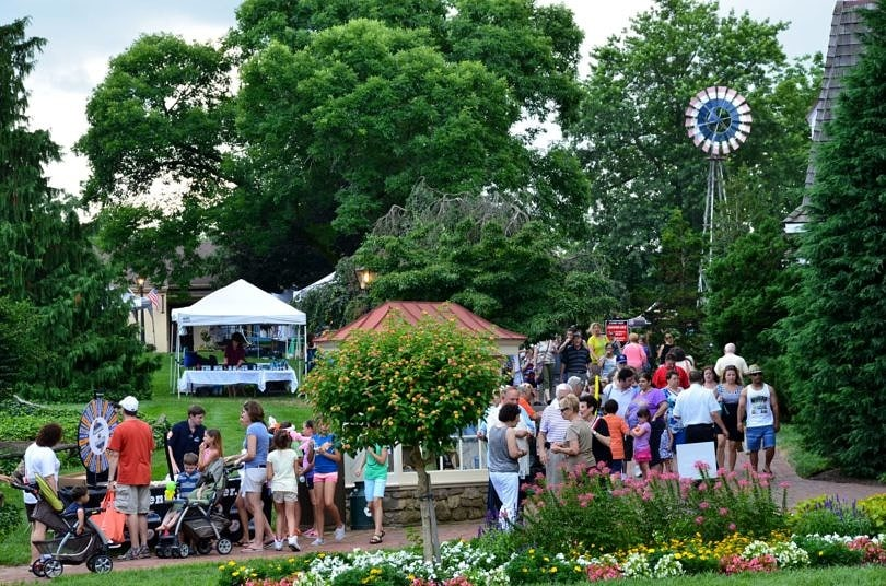 Blueberries and Bluegrass Festival in Buck's County, Pennsylvania ~ Best Free Music Festivals for Families in the USA