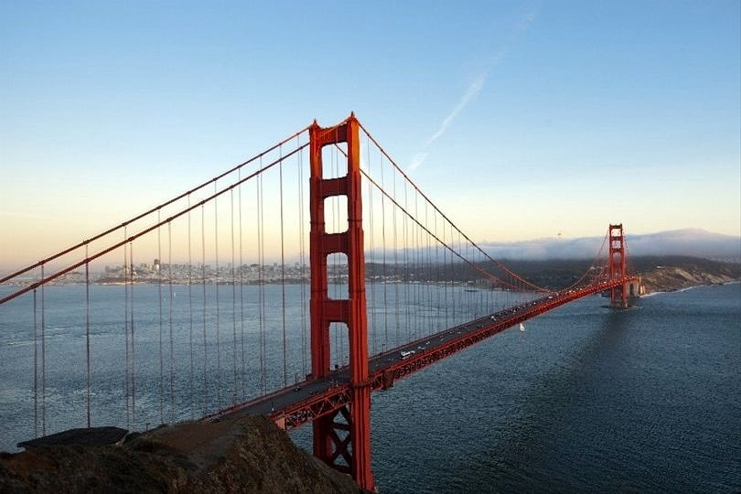 California's Golden Gate Bridge