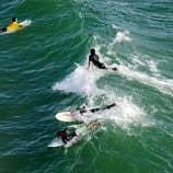 Learn how to surf in Huntington Beach, also known as Surf City USA ~ California with Kids Destinations