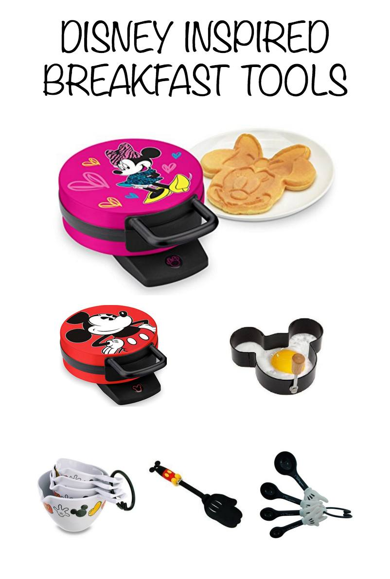 Disney decor and gift ideas ~ Disney inspired breakfast tools