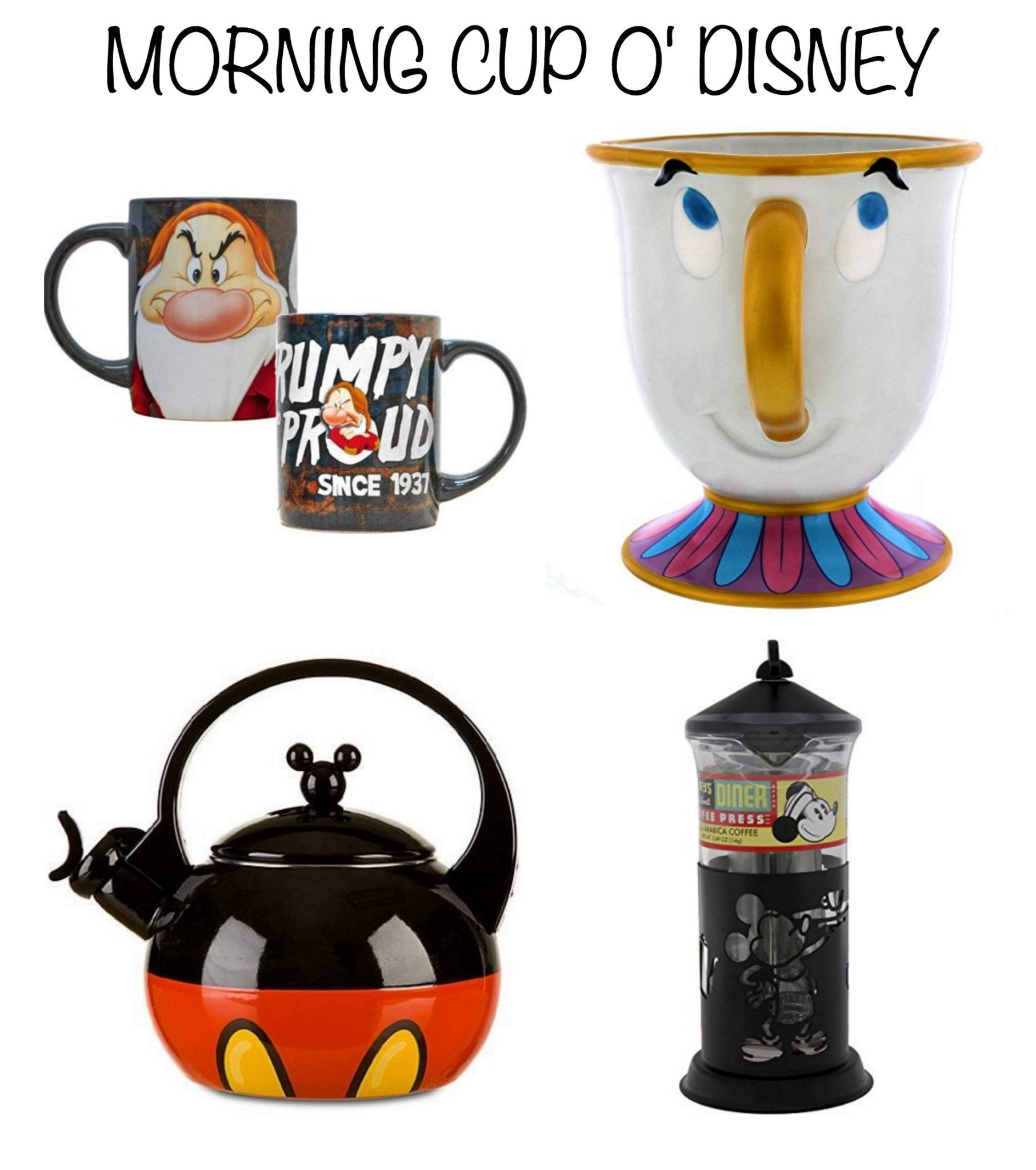 Disney Decor and Gift Ideas ~ Wake Up to Disney Coffee and Tea