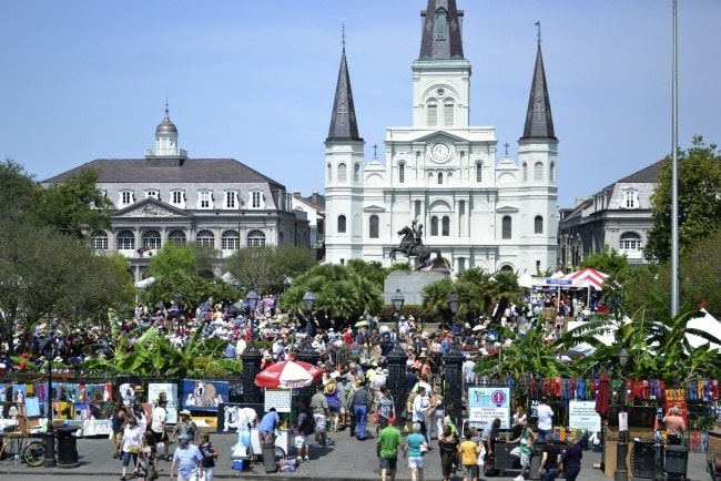 French Quarter Festival in New Orleans, Louisiana ~ Best Free Music Festivals for Families