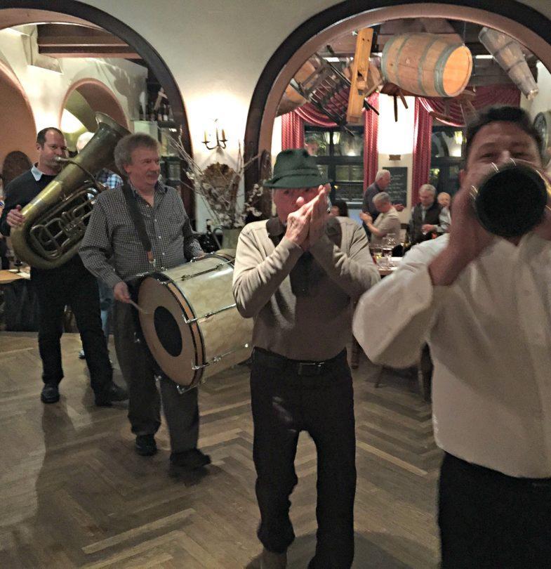 Oom Pah Pah Band in Rudesheim am Rhein