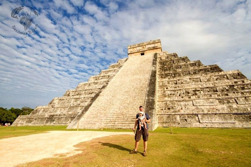 Yes! You can visit Chichen Itza with a baby! ~ Tips for Cancun with Babies and Toddlers