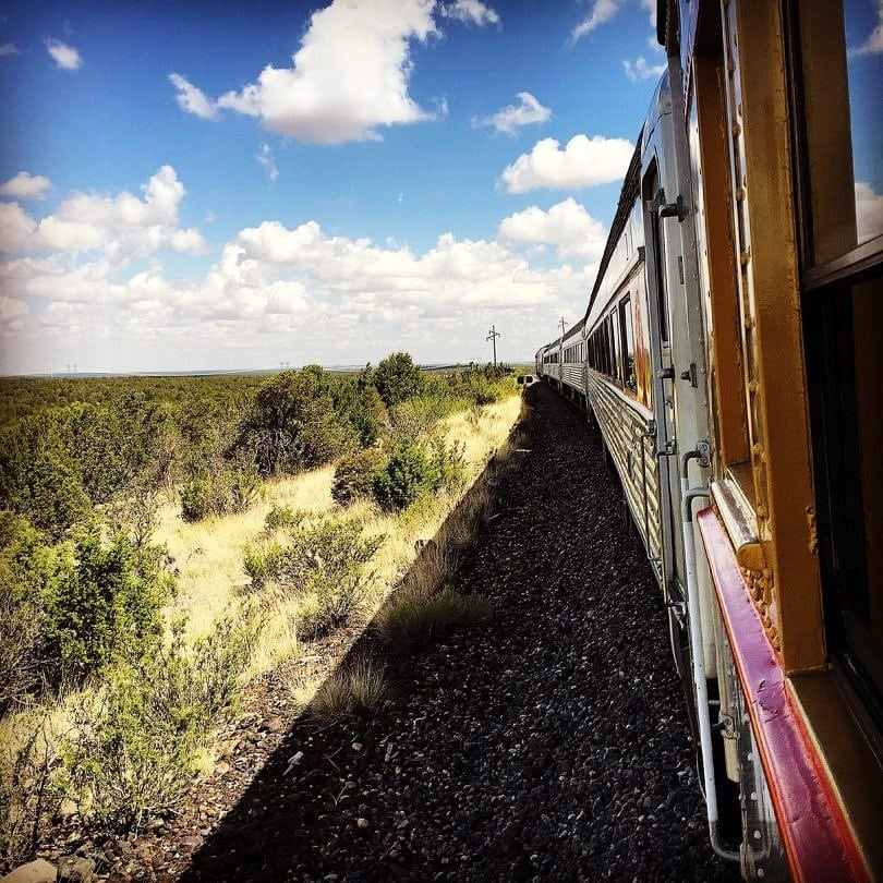 Chug your way to the canyon via the Grand Canyon Railway