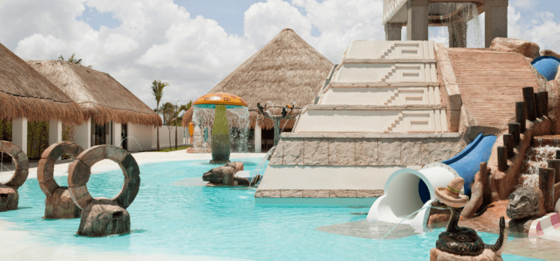 A pool perfect for young children at Finest Playa Mujeres ~ Cancun with Babies and Toddlers