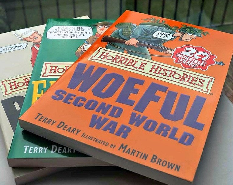 The Horrible Histories series brings history to life for children ~ 5 Books British Kids Read