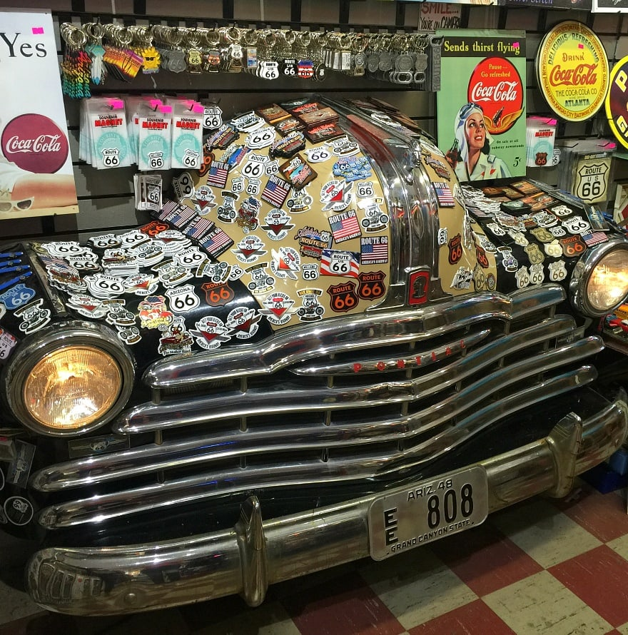 Get your kicks...and your tchotchkes...on Route 66 ~ Grand Canyon with Kids