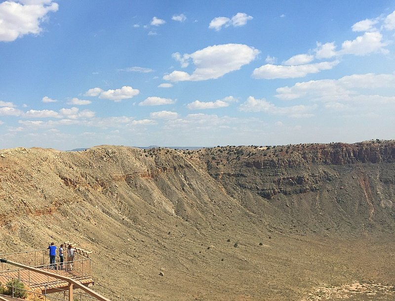 Meteor Crater ~ Grand Canyon with Kids Side Trip